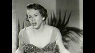 Fran Warren + David Saxon 1949 WPIX-TV-2 - What´s My Name