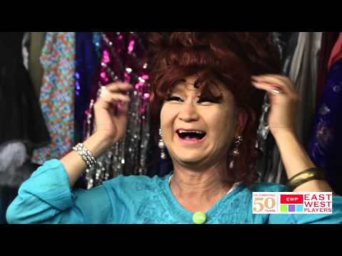 Gedde Watanabe Transforms Into Albin from LA CAGE AUX FOLLES