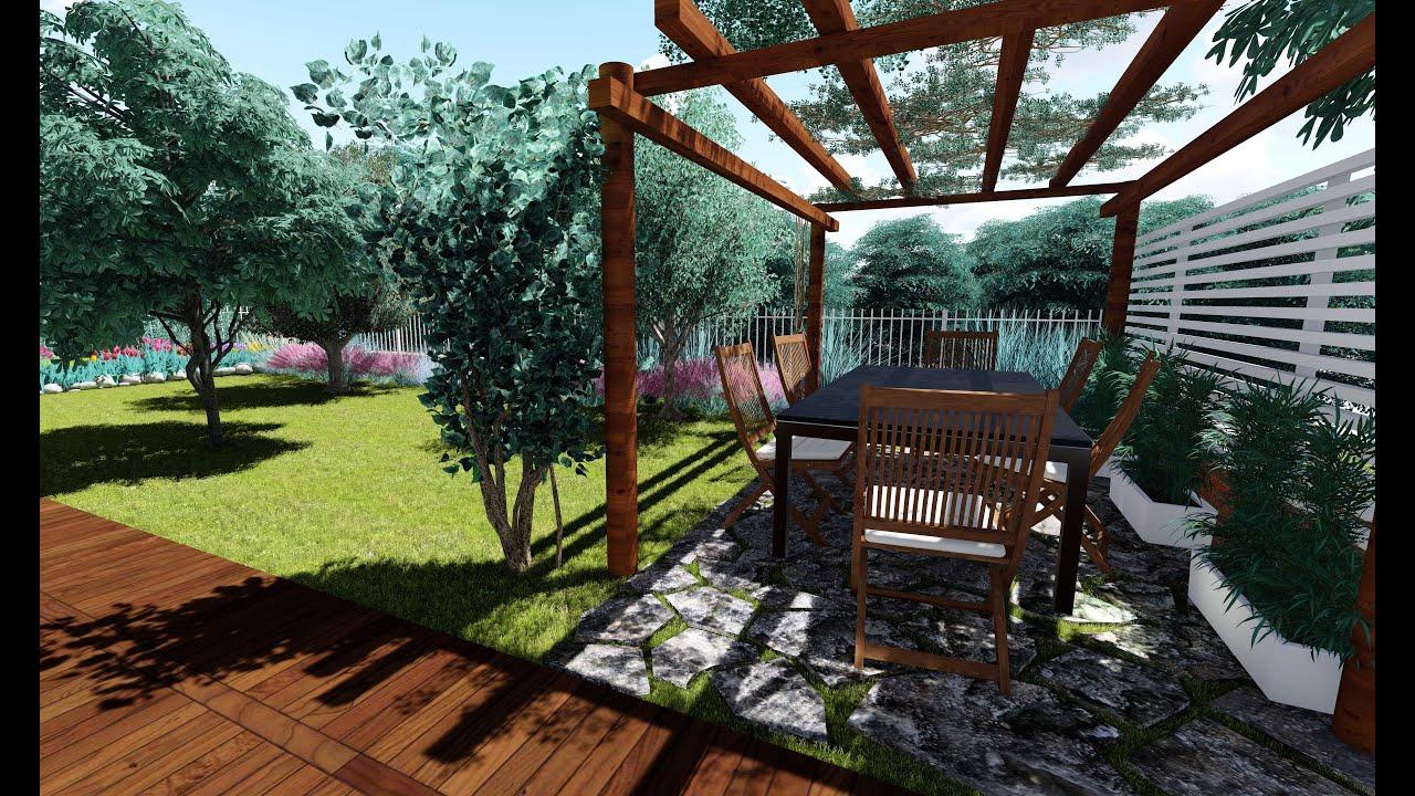 Come progettare un giardino progetto il tuo giardino - Progetto per giardino ...