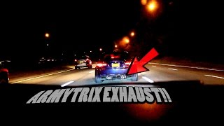 Insane bmw m3 v8 (e92) armytrix exhaust crazy acceleration!