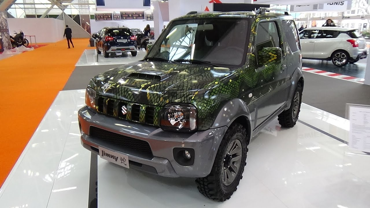 2018 suzuki jimny 1 3 vvt 4wd evolution hebi exterior. Black Bedroom Furniture Sets. Home Design Ideas
