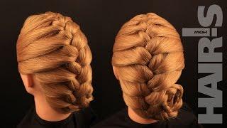 Заплетаем французскую косу своими руками – видеоурок (мастер-класс)