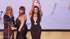 2016 XBIZ Awards - Jessy Dubai Wins 'Transgender Performer of the Year' Award