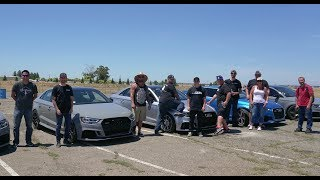 FASTEST AUDI RS3 IN THE WORLD | 5 CYLINDER SHOOT OUT |