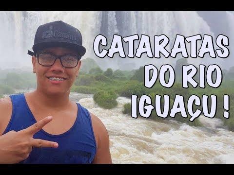 TOMANDO BANHO NAS CATARATAS - Godenot