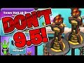WHY YOU SHOULDN'T 9.5! DROPPING INFERNO TOWERS + Getting & Using Clan Game Rewards! - Clash of Clans
