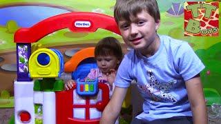 Домик для Кукол Распаковка Игрушек с Ариной Играем вместе с Братиком | House for Doll