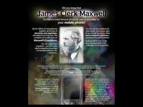 James Clerk Maxwell - biography