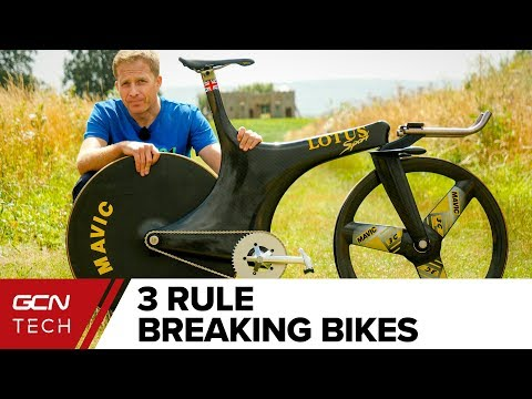 3 World Record Breaking Bikes - So Fast They Were Banned!