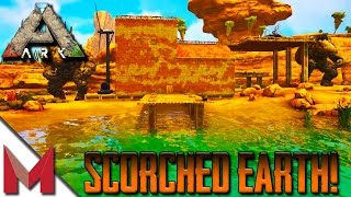 MAZION'S ADOBE HOUSE / 116 EARTH GOLEM -=- ARK: SCORCHED EARTH GAMEPLAY -=- S1E8