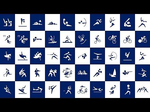 The top ten 2020 Tokyo Olympics pictograms, ranked