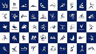 東京2020オリンピックスポーツピクトグラム