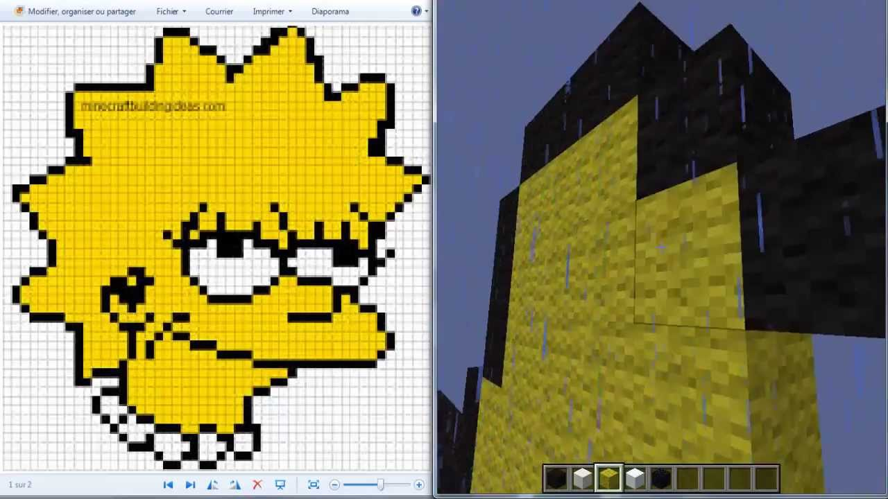 Favori Pixel Art Simpson #2 (lisa) [Rockeur919] - YouTube GL02