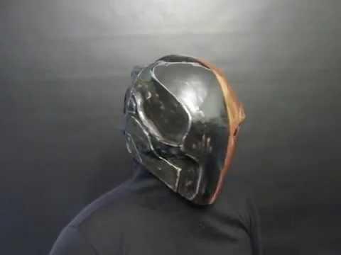 Deathstroke Foam mask  YouTube
