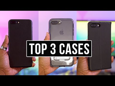 My Top 3 iPhone Cases July 2017
