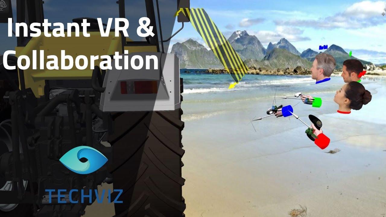 25836f82403 Instant VR   Collaboration by TechViz - YouTube