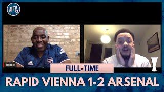 Rapid Vienna 1-2 Arsenal | Auba Is Back!!! (Troopz)