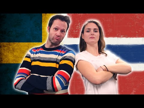Swedish VS Norwegian - Language Challenge with HelleMyLady