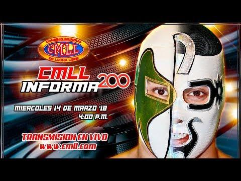CMLL INFORMA 14 DE MARZO DE 2018
