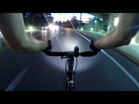 Is It Legal To Bicycle On The Highway Freeway? Night Commuting Bike Blogger