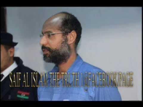 """LIBERATE HOMELAND ""in the name of Saif al Islam ,talks ""colonel Libyan lion """