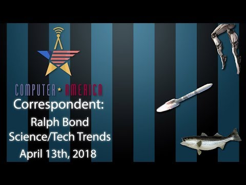 Science/Tech Trends Correspondent Ralph Bond Shows Us What's New!
