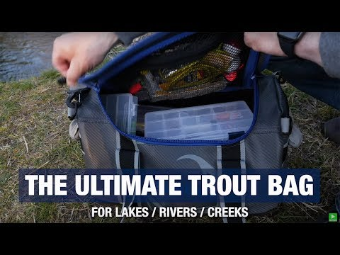 The Ultimate Trout Fishing Gear Bag! (EVERYTHING YOU NEED)
