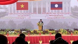 Khởi công Nhà Quốc hội Lào - Công trình biểu tượng cho mối quan hệ đặc biệt Việt - Lào