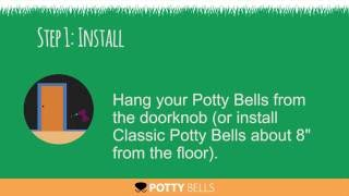 Potty Bells Instructions - 3 Simple Steps to Using a Dog Doorbell