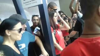 Tarja llega a Salvador Bahia. 23.10.2015