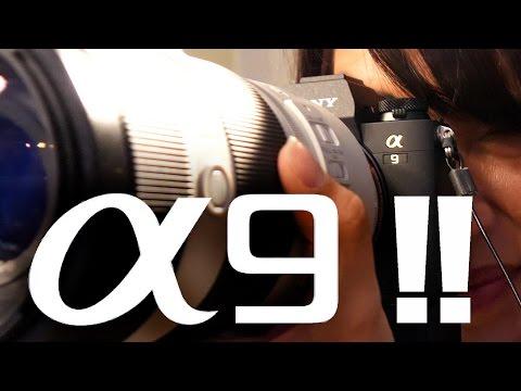 Sony a9 Hands-on: A $4,500 Canon 1DX Killer!