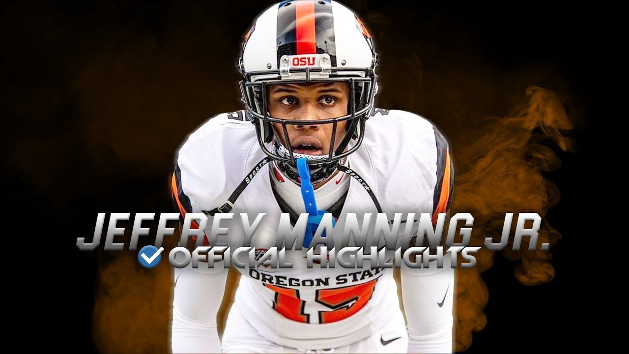 Jeffrey Manning Jr. Official Oregon State Highlights ᴴᴰ
