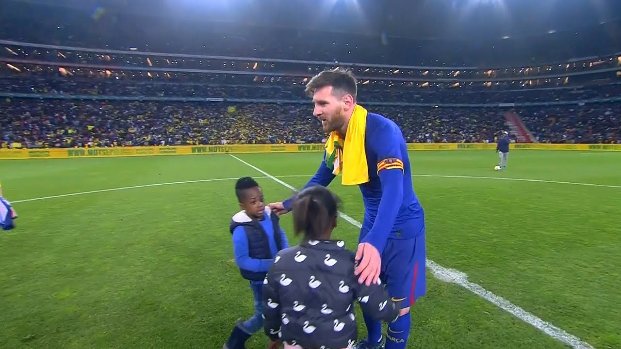 Lionel Messi vs Mamelodi Sundowns FC (Friendly) 16/05/2018 HD 1080i - YouTube