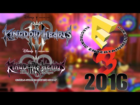Kingdom Hearts 3 and 2.8 at E3 2016?