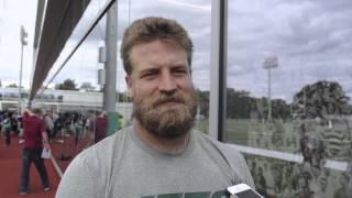 Jets' QB Ryan Fitzpatrick talks about being a Harvard graduate