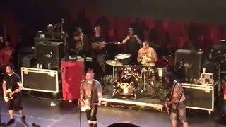 NOFX - Fuck the Kids, Dinosaurs Will Die - April 16, 2016 - Hepatitis Bathtub Tour - Belasco Theatre