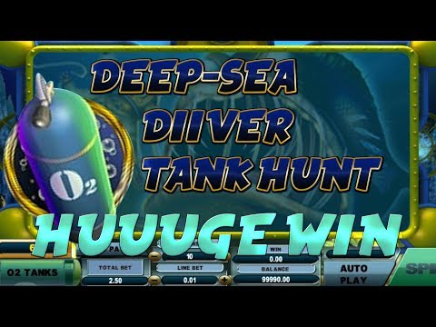 BIG WIN!!!! Deep-sea diver (Tank Hunt) Big Win - Casino - Bonus round (Casino Slots) on TTR CASINO