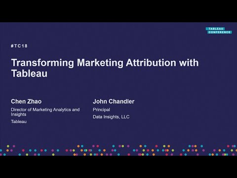 Marketing @Tableau | Transforming marketing attribution with Tableau Mp3