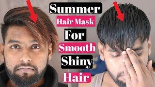SUMMER HAIR MASK FOR Smooth Shiny Hair