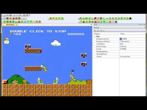 Super Mario Bros  FanGame Development Showcase 160804 - YouTube