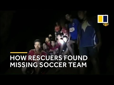 Timeline: How rescuers found the missing soccer team alive in a Thai cave