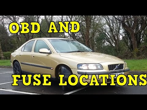 Volvo S60 OBD And Fuse Locations