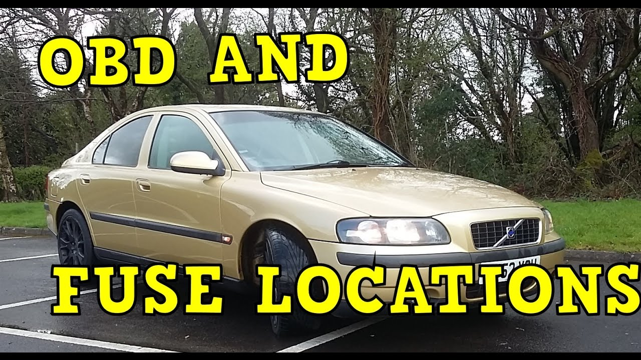 small resolution of volvo s60 obd and fuse locations