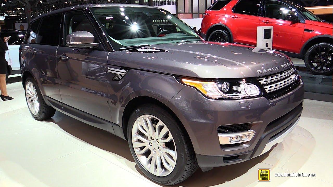 2015 Range Rover Sport HSE Td6 Diesel Exterior and Interior