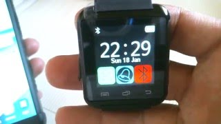 How to Pair U8 SmartWatch bluetooth to Samsung Note 5
