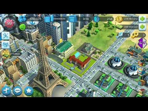 Взлом SimCity Buildlt на внутриигровую валюту, опыт и ресурсы