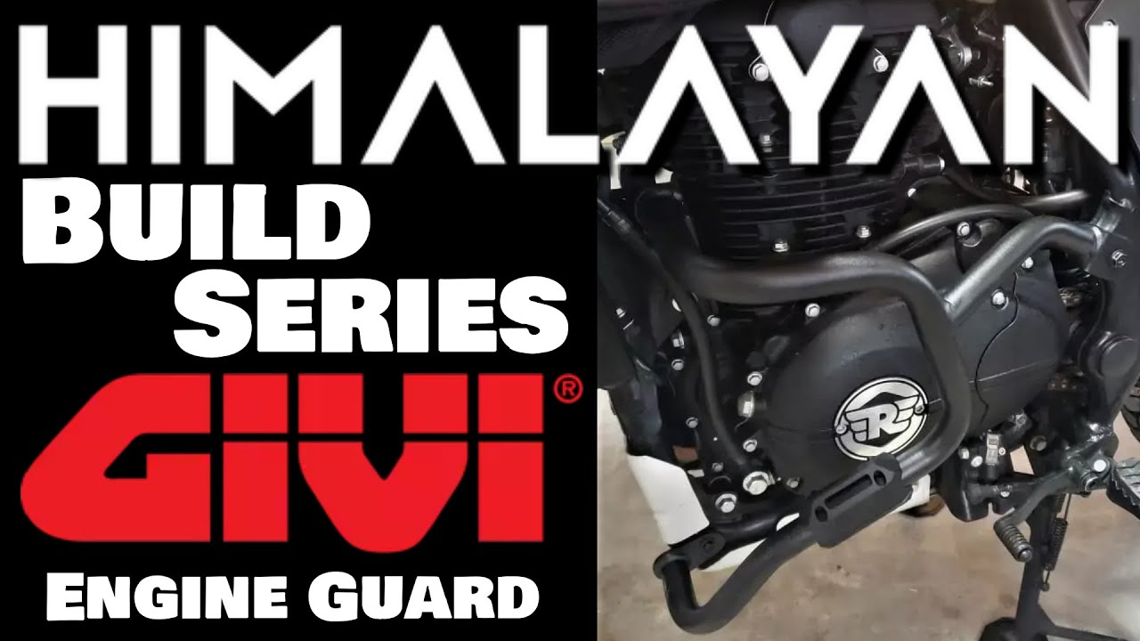 Givi Engine Guard Step-by-Step Install Tips | Royal Enfield Himalayan | Ol' Man Ronin (S2,E17)