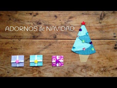 Nos encanta el origami fácil para niños como estos regalos para las decoraciones navideñas