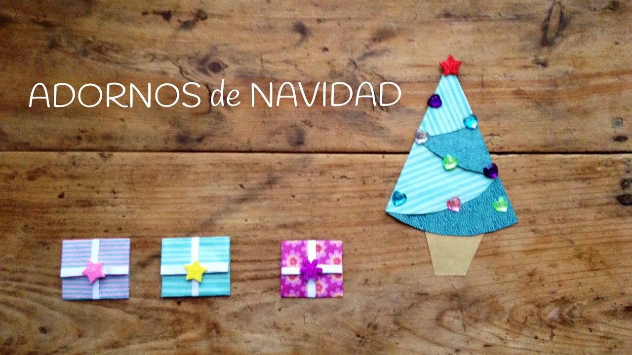 Adornos navide os para ni os regalos de origami youtube - Adornos navidenos ninos ...
