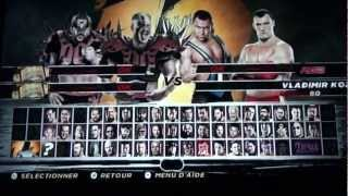 Gameplay cool WWE 12 WII (L)